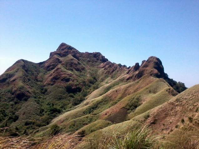 View of Peaks 9 - 12